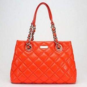 Kate Spade gold coast maryanne tote bag orange